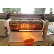 High Resolution Digital Textile Inkjet Printer, Micro Piezo