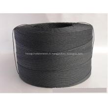 cordon en papier noir