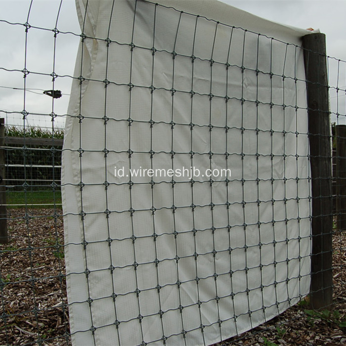 Grassland Fence-Hot dicelup Galvanized Kraal Network Fence