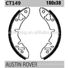 Bonnes pièces FSB373 pour AUSTIN ROVER sabot de frein de stationnement