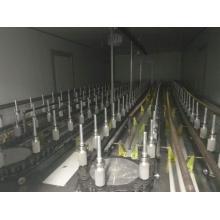 Equipamento de pintura de pulverizador automático para produtos de vidro