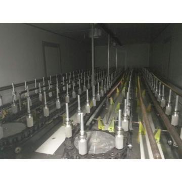 Equipos de pintura de aerosol automático para productos de vidrio