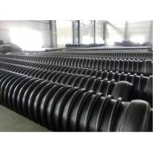 Tubería estructural reforzada con bobinado de HDPE