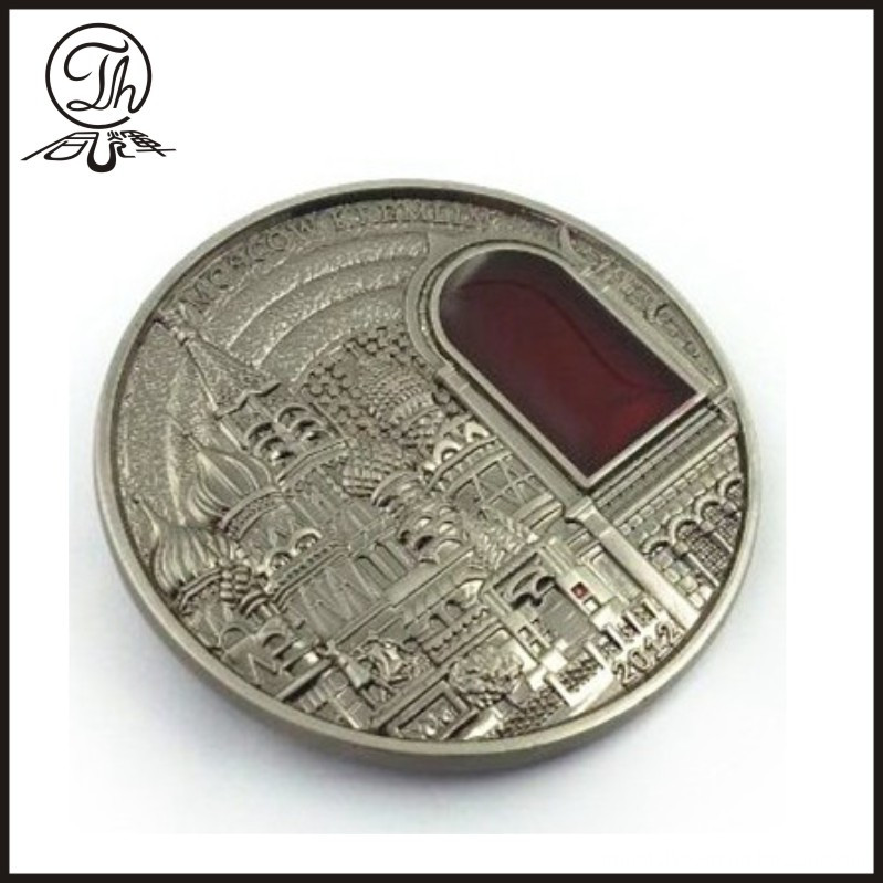 Making challenge coin