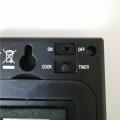 Großes digitales LCD-Kochthermometer mit Zeitschaltuhr