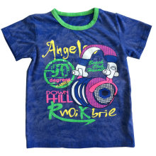 3D Washing Baby Children T-Shirt in Kids Clothing with Cotton Quality Sqt-613
