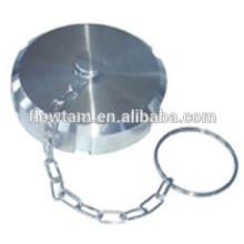 sanitary stainless steel blank cap