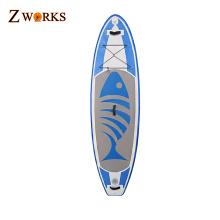 Tabla de surf inflable barata de la tabla de paleta competitiva