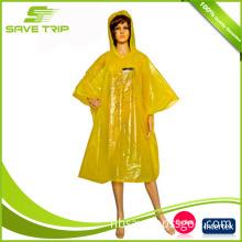 Cheap but Good Reusable Hooded Raincoat Poncho
