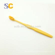 Escova de dentes adulta de marca de plástico de alta qualidade para uso doméstico