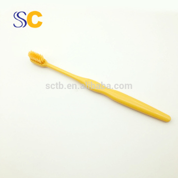 High quality plastic brand name adult toothbrush for home using