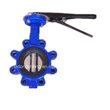 Válvula de borboleta do ferro de molde (tipo do LT)