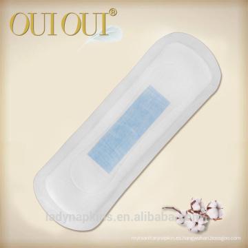 Productos de higiene femenina de alta calidad de la señora suave algodón panty liner