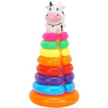 Кольцо для хранения круглой коровы Складной Jenga