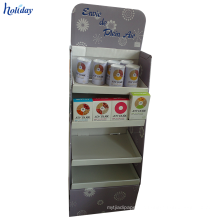 4 Tier Durable Stable Display Stand Cardboard For A Variety Of Products.