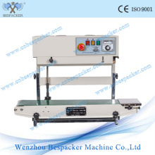 Vertical Continuous Plastic Water Plastic Bag Sealer