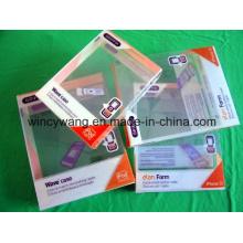 Caixa de plástico com impressão (HL-186)