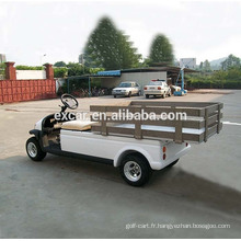 Chariot utilitaire électrique 4 roues à vendre avec bon prix