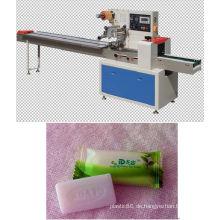Volle automatische Fluss-Maschine, die Hotel-Seifen-Verpackungsmaschine automatisch versiegelt und schneidet