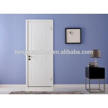 Porte d'appartement, design simple de porte en bois, portes intérieures en bois