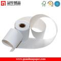 Rouleau de papier autocopiant POS à haut niveau ISO avec rayure rouge