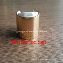 24/410 tapa superior de aluminio del disco / cubierta / tapa de botella
