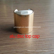 24/410 Aluminium Cosmetic Disc Top Lid/Cover/ Bottle Cap