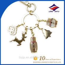 Personal Metal Sublimation Pendant Keychain Custom