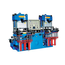 High-Precision Double-Pump Full-Automatic Vacuum Fornt-Style 3rt Hydraulic Molding Machine for O-Ring Products (KSV-3RT-200T)