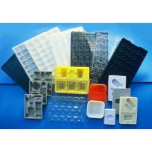 Plateau de boursouflure en plastique OEM fabriqué en Chine (boîte cosmétique)