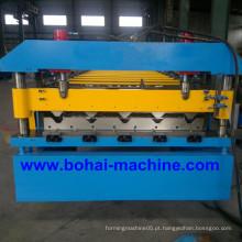 Máquina formadora de rolo de telha de aço Bohai