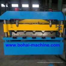 Bobina de aço de Bohai que dá forma à máquina