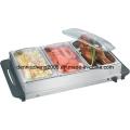 Servidor Buffet eléctrico y calientaplatos