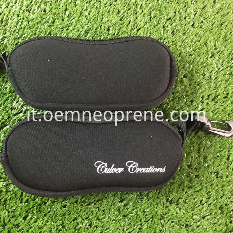 Alt Black Glasses Pouch