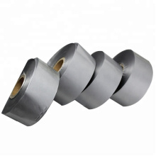 High quality ribbon zebra barcode printer metallic silver thermal transfer foil