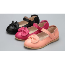 Chlidren Shoes Girls Shoes Fabricante al por mayor Soft Leather Kids Shoes
