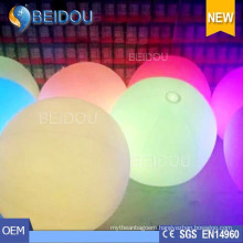 Christmas Decorations Custom PVC Inflatable Zygote Balls LED Lighted Balloons