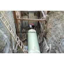 Tubo compuesto con alta resistencia y alta rigidez
