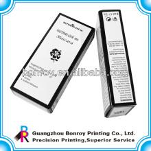 Kundenspezifischer umweltfreundlicher Papierverpackungskasten für Parfüm mit Logo-Druck