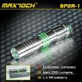 Maxtoch SP2R-1 Max 250 Lumens IPX7 inox LED Mini Portable petit