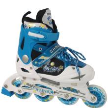 PVC Wheels Blue Children Inline Skate