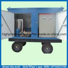 Машина для очистки промышленных трубопроводов высокого давления 1000 бар Jet Cleaner
