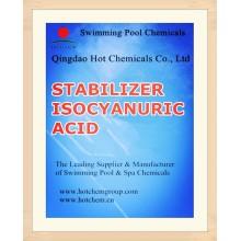 Estabilizador 98.5% ácido isocianúrico (cloro estabilizado) Einecs 203-618-0