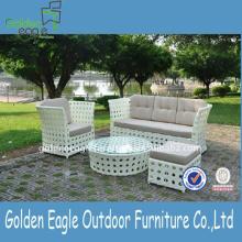 Meubles de sofa de jardin en aluminium avec le tissu de Sunbrella