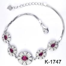 Novo estilo 925 pulseira de prata da jóia da forma (K-1747. JPG)