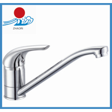 Brass Single Handle Kitchen Faucet (ZR21205)