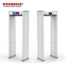 Non Contact Temperature Detection Security Metal Door