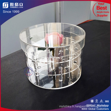 Bon Price Whosale Plastic Folower Acrylique Rose Flower Box