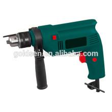 GOLDENTOOL 13mm 500w poder de concreto de madeira de aço Coring mão Drill Machine portátil elétrica barato impacto broca