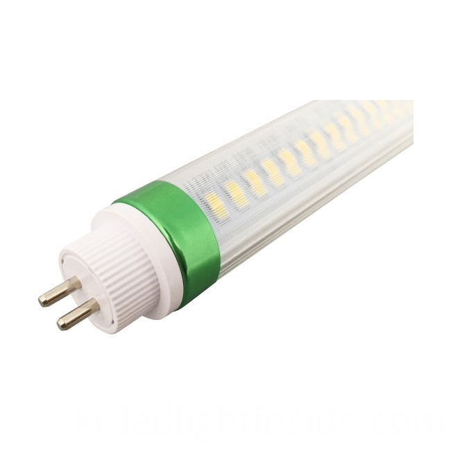 T5 LED tube light high lumen 18W 1150mm half clear cover